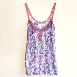 Urban outfitters kimchi & blue floral lace cami